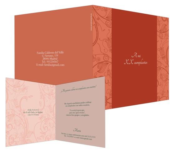 Tarjeta De Luxe
