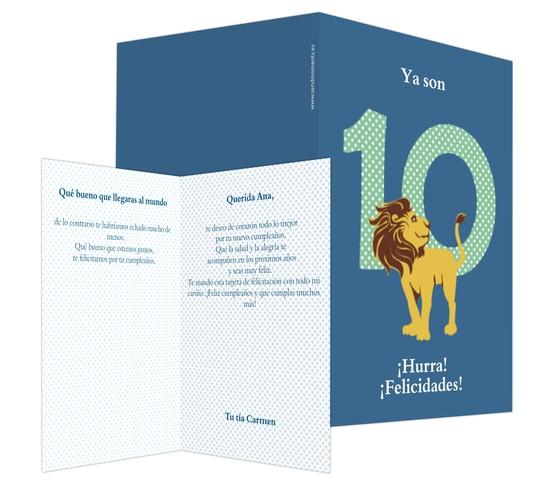León y diez