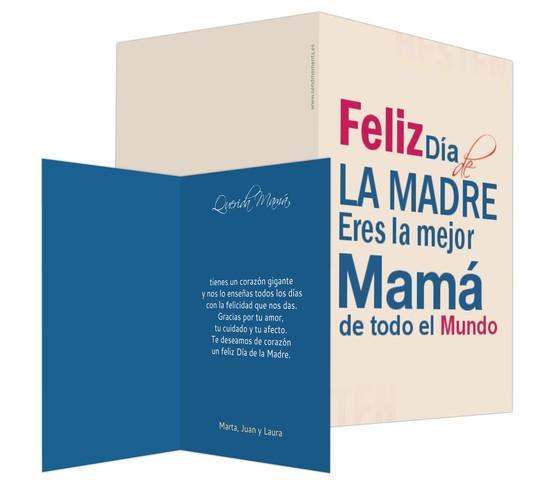 Para la mejor Mamá
