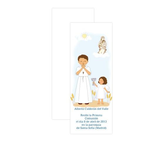 Niño con la Virgen